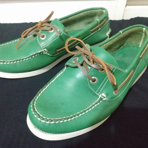 Sapatos foxton mocassim top sider couro tam 41 r$260