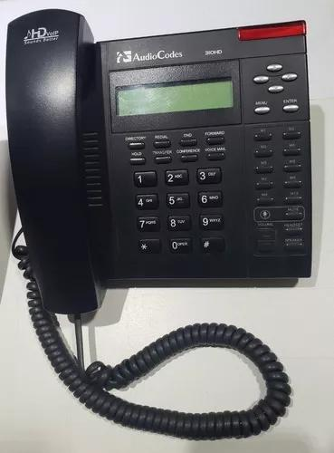 Telefone ip 310hd sip poe - audiocodes