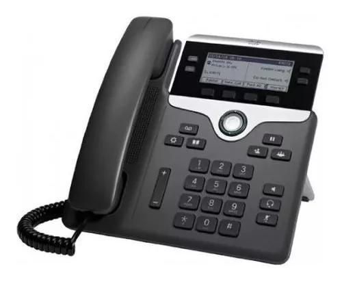 Telefone ip cisco 4 cp-7841 k9 linhas