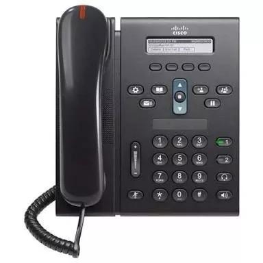 Telefone ip cisco 6921 poe novo c/nf