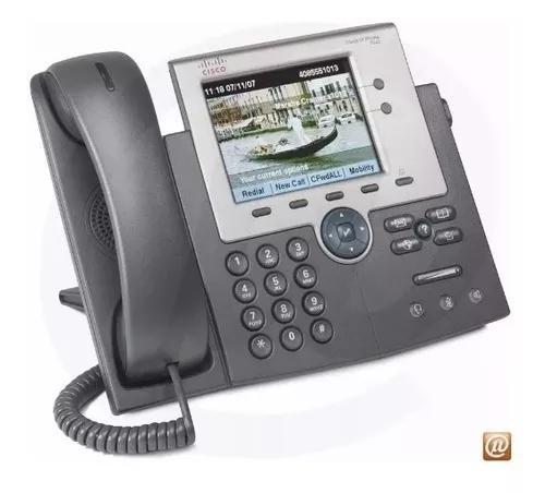 Telefone ip cisco cp 7945g colorido sip issabel + fonte poe