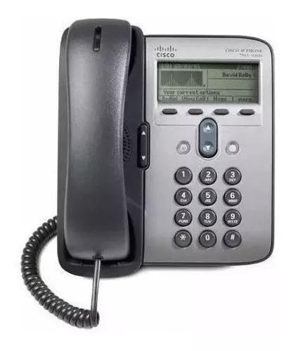 Telefone ip cisco - modelo cp-7911 telefonia voip