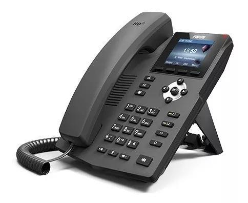 Telefone ip fanvil x3s e x3sp - 4 unidades - usados!