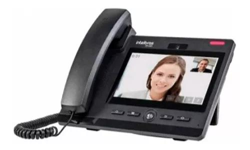 Telefone Ip Intelbras Tip 638v Chamadas De Vídeo Voip