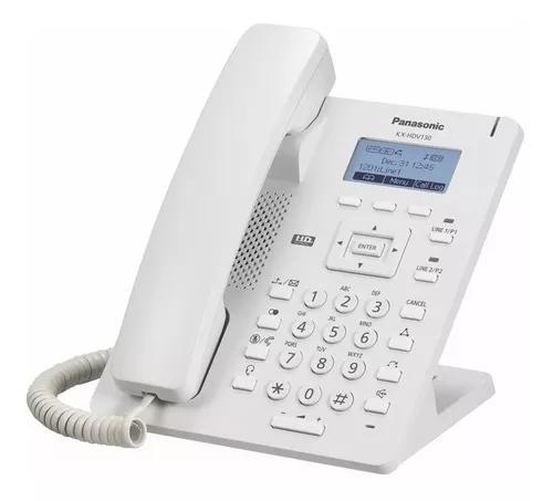 Telefone ip panasonic kx-hdv130 poe, nfe