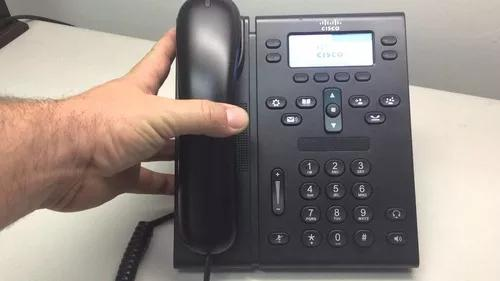 Telefone ip unified cp6941 na caixa - cisco