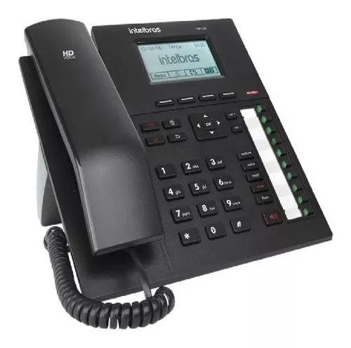 Telefone ip voip com display gráfico tip 425