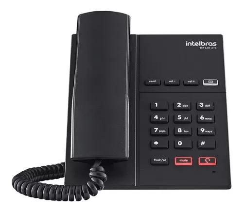 Telefone ip voip intelbras tip 120 lite