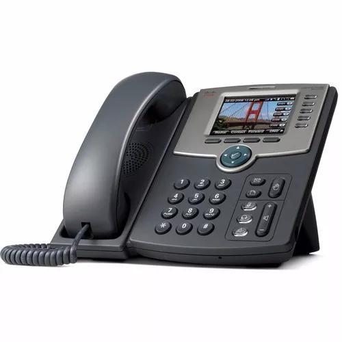 Telefone voip cisco spa525g2 color novo na caixa