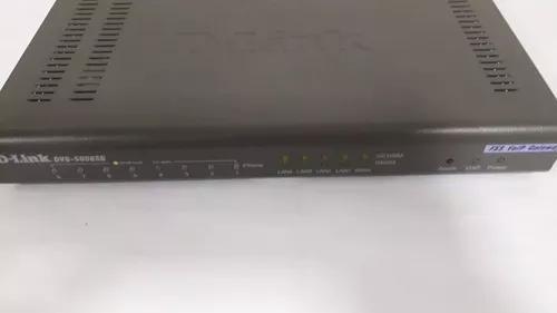 Voip dlink 8 fxs dvg-6008sg gateway gigabit