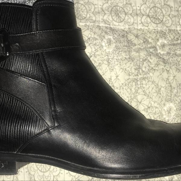 Ankle boots louis vuitton preta