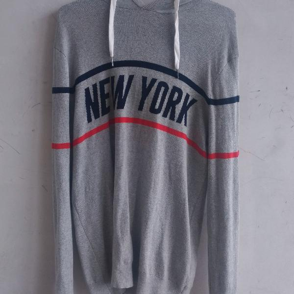 Blusa de moletom new york