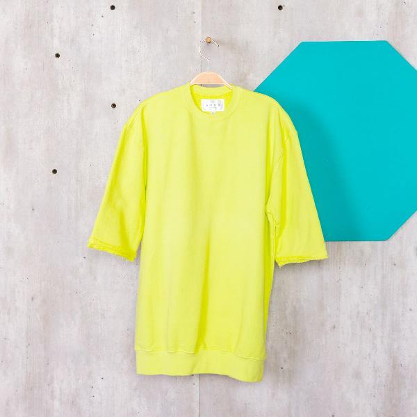 Blusa moletom verde limão