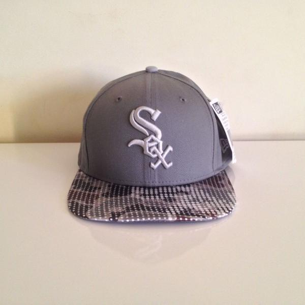 Boné new era aba reta chicago white sox snapback original