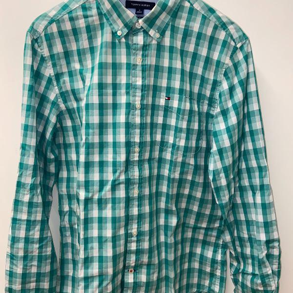 Camisa xadrez tommy