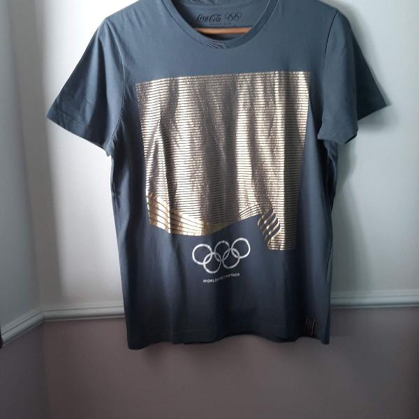 Camiseta coca cola olimpíadas