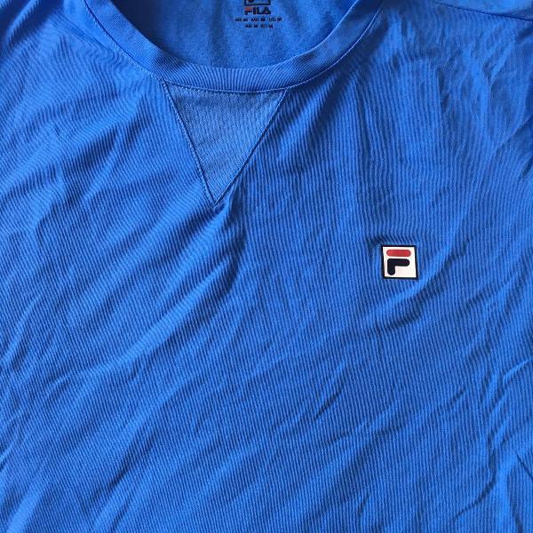 Camiseta fila azul claro tam m