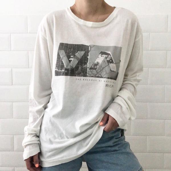 Camiseta manga longa rvca