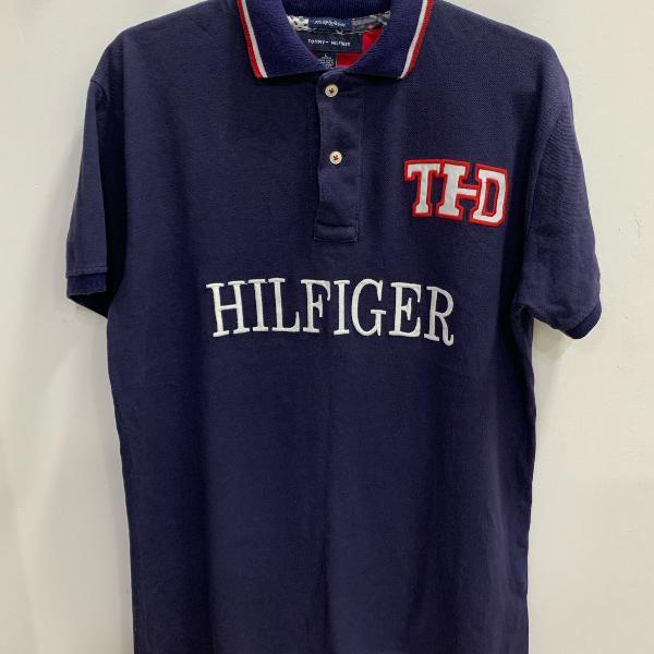 Camiseta polo masculina tommy hilfiger