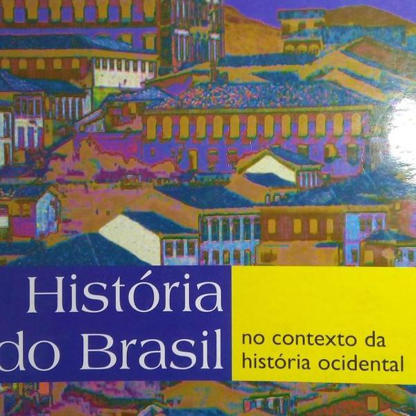 Livro 'historia do brasil: no contexto da história