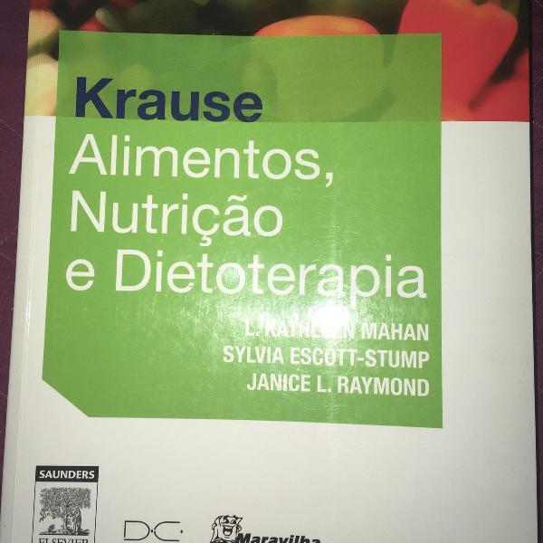 Livro - krause - alimentos, nutrição e dietoterapia - 13a.