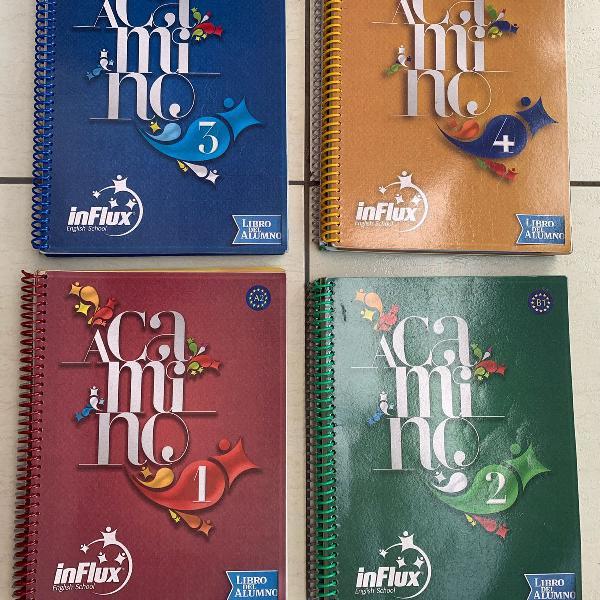 Livros didático espanhol