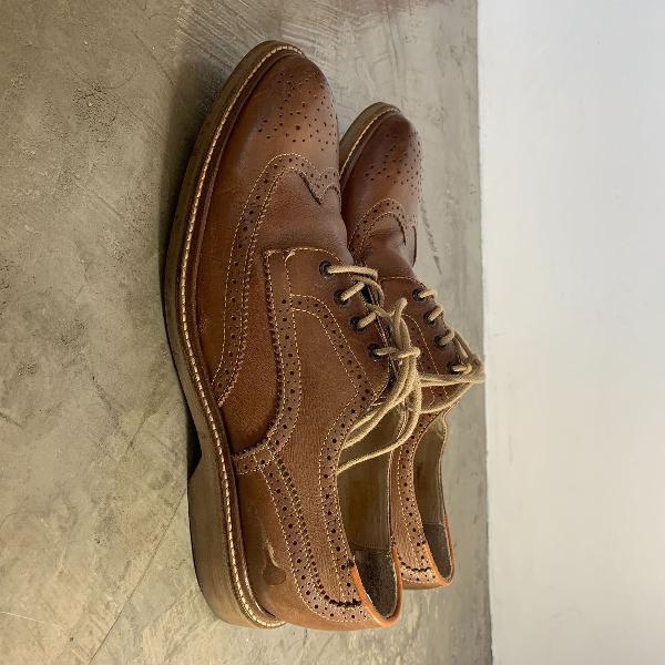 Sapato oxford richards masculino em couro tamanho 41