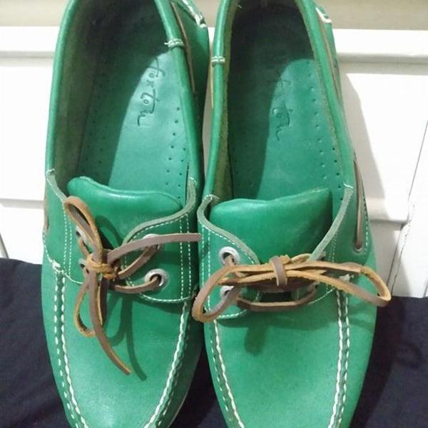 Sapatos foxton mocassim top sider couro tam 41 r$277