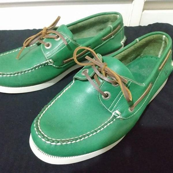 Sapatos foxton mocassim top sider couro tam 41 r$279