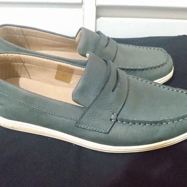 Sapatos selaria richards mocassim couro tamanho 40 r$199