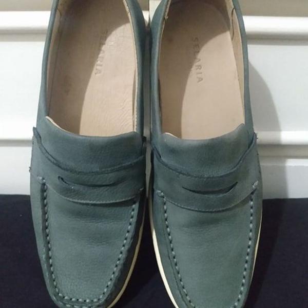 Sapatos selaria richards mocassim couro tamanho 40 r$229