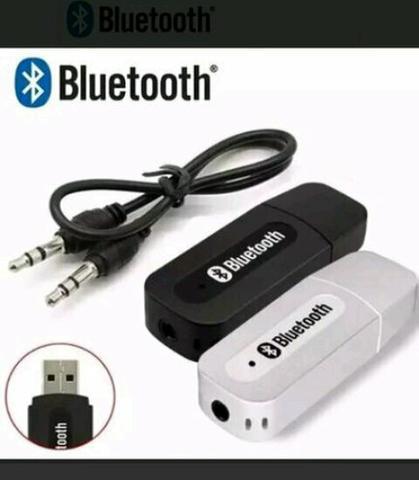 Adaptador e receptor de áudio bluetooth novo