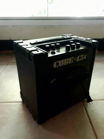 Amplificador para guitarra roland cube 15x