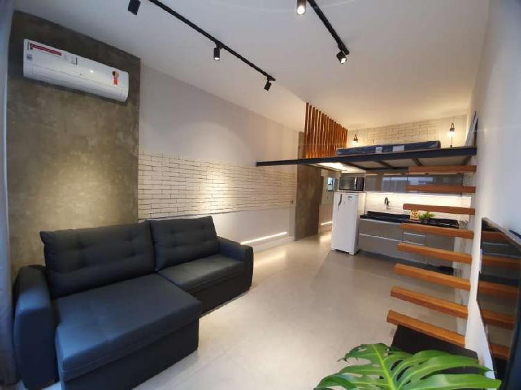 Apartamento para venda com 42 metros quadrados com 1 quarto