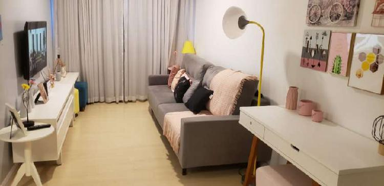 Apartamento para venda com 54 metros quadrados com 2 quartos