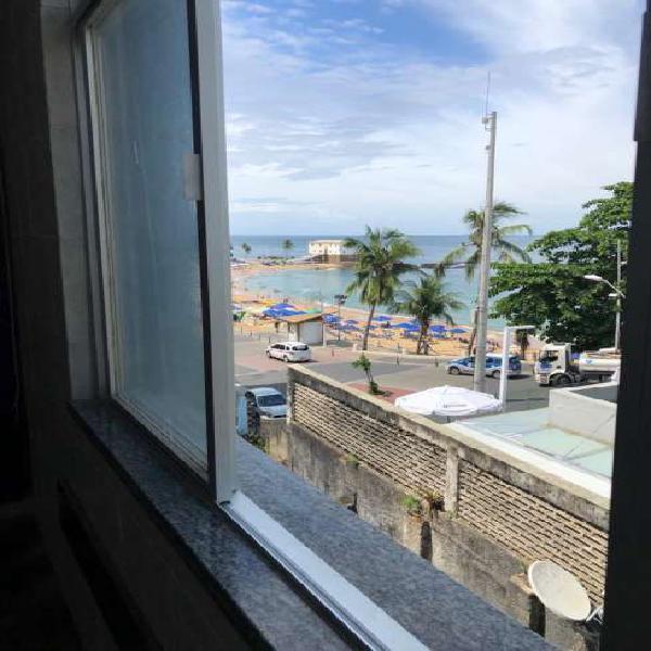 Apartamento para venda ou aluguel em Salvador, Barra, vista