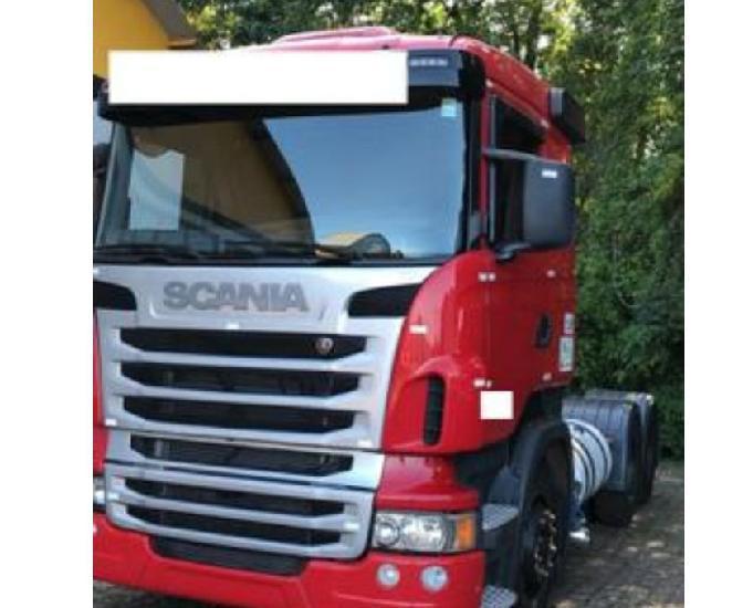 Caminhão scania r 440 6x4 traçado completo ano 2013