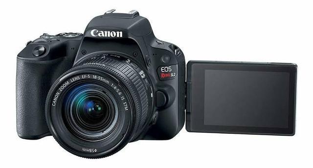 Canon eos sl2 kit completo + flash