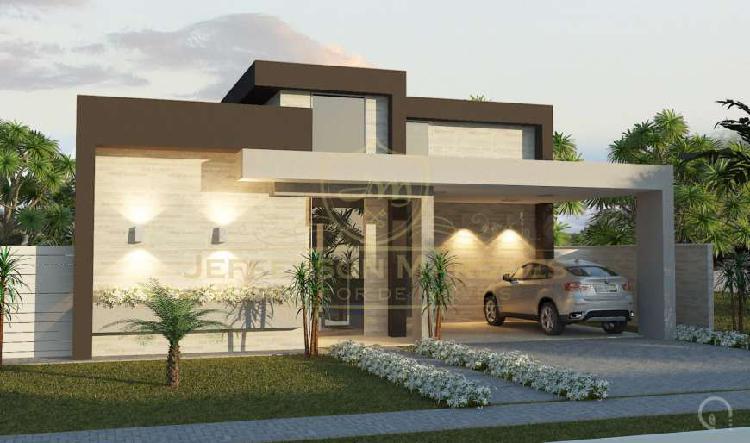 Casa plana :: 4 suítes :: 211m² :: alphaville fortaleza