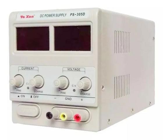 Fonte de bancada 30 volts 5 ampéres