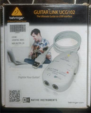 Guitar link original na caixa usado 2 vezes