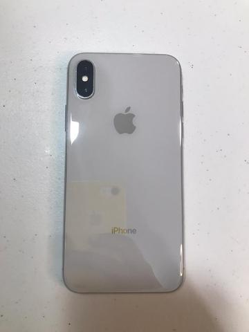 Iphone x 64gb branco perfeito novo