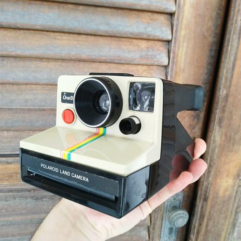 Linda e rara maquina antiga de filme fotografia -