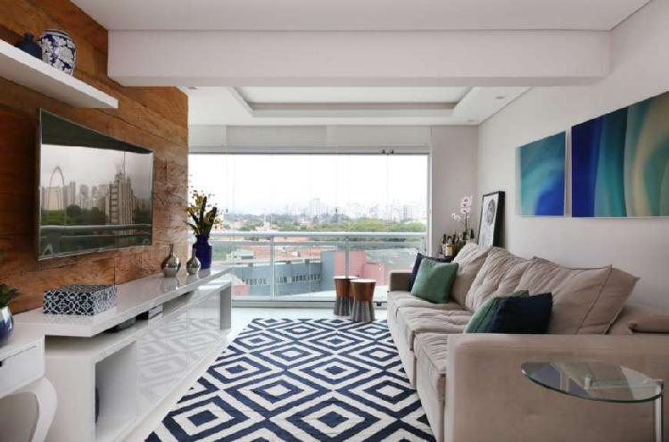 Lindo apto mobiliado com 2 suites, localizaçao excelente!
