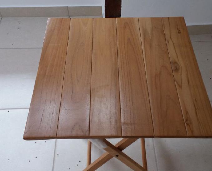 Mesa de madeira dobravel tropicalia