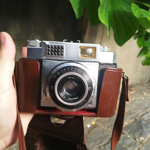 Zeiss ikon contina alemã camera antiga fotografica -