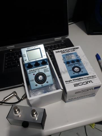 Zoom ms70cdr com mood e foot switch