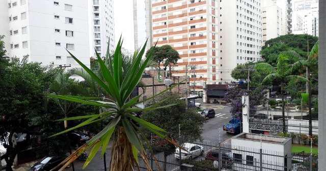 Moema, apartamento em rua tranquila, face norte, muitos