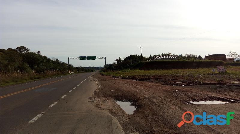 Vende se Terreno Industrial de 26.000 m2 Vera Cruz no trevo da BR 287 3