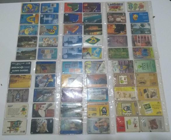 110 cartões telefônicos